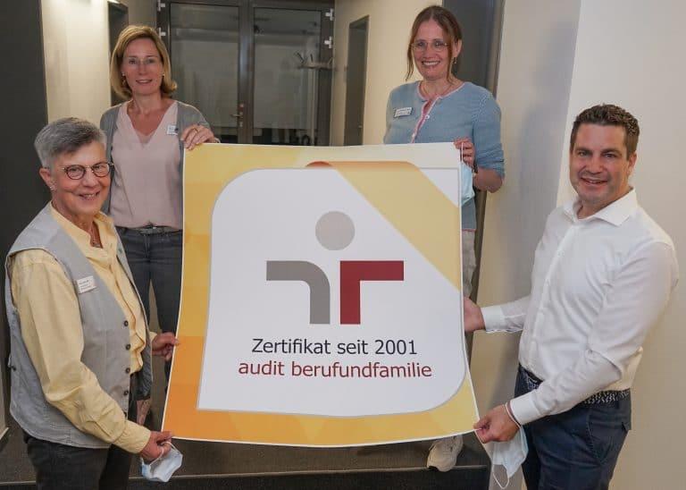 Christophorus Kliniken Zertifikat Beruf und Familie
