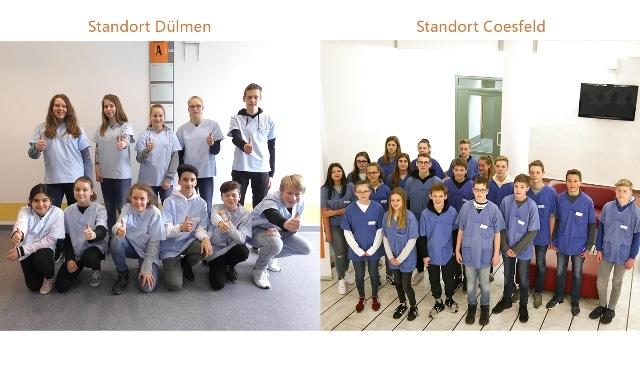 Christophorus-Kliniken Girls and Boys Day Einblick in den Krankenhausalltag