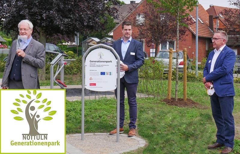 Christophorus Kliniken Foerderverein Eroeffnung des Generationenparks