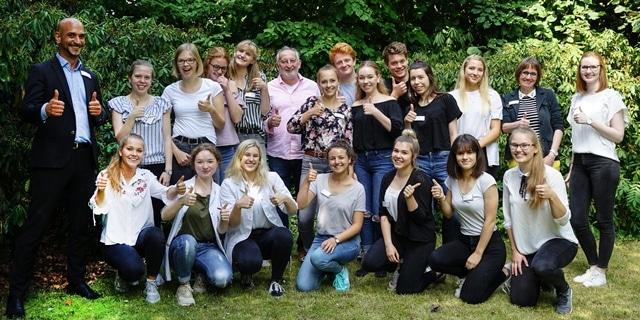 Christophorus-Kliniken Projekt Zukunft Schueler entwickeln Ideen fuer Praktikantenwesen