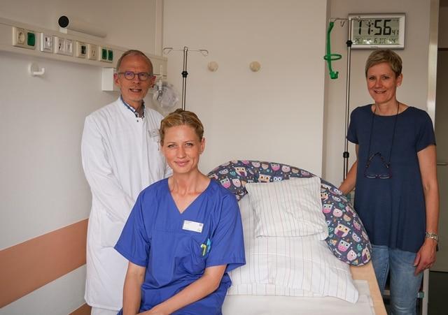 Christophorus-Kliniken Frauenklinik schafft drei zusaetzliche Kreißsaele