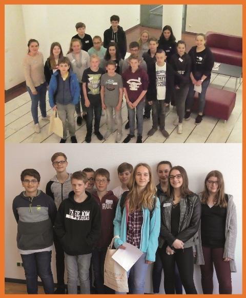 Christophorus-Kliniken Girls' und Boys' Day 2018 Ausbildungsberufe praesentieren