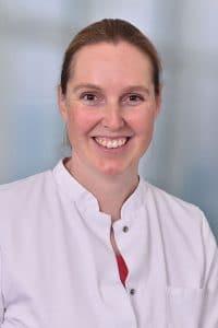 Andrea Bögel, Frauenklinik