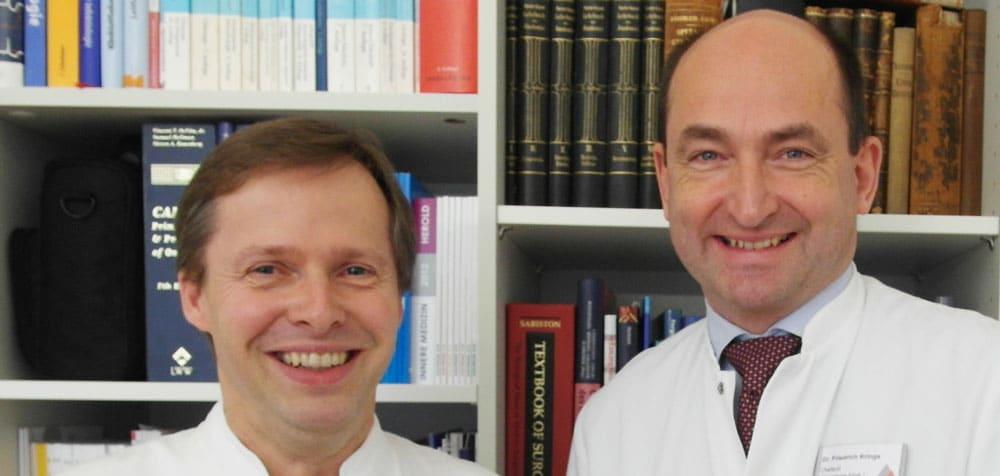 Portrait von Dr. Krings und Dr. Steinmann