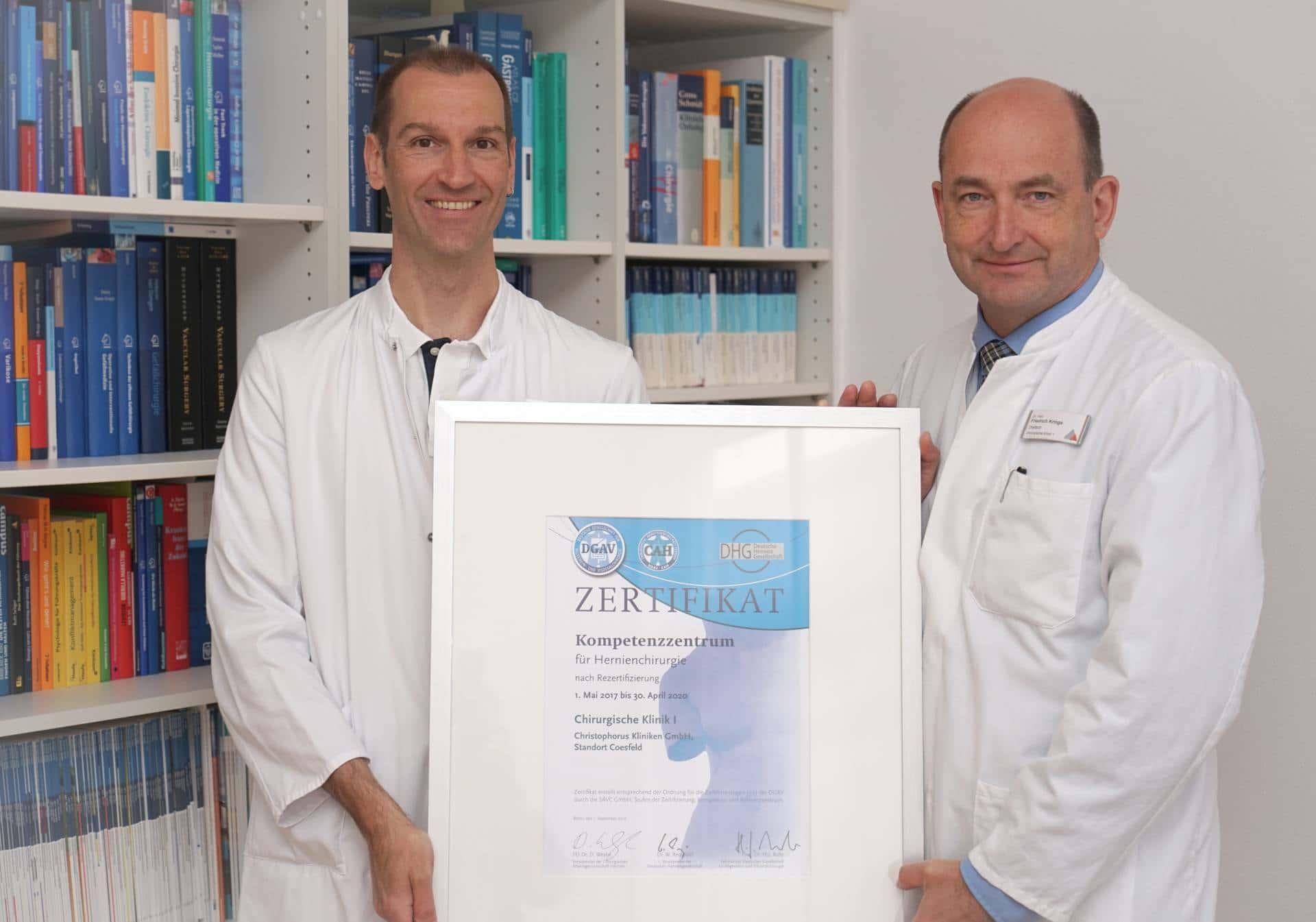 Hernienzentrum Christophorus-Kliniken